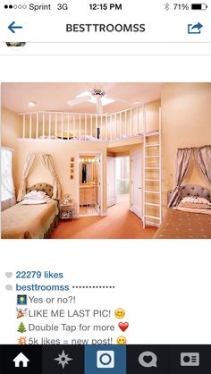 I don't like the color just the room