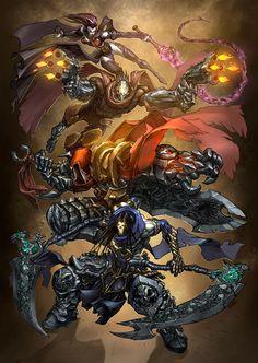 The Horsemen by funnyberserker.deviantart.com on @DeviantArt