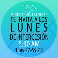 ¡Todos los lunes!  Ministerios Ebenezer Guatemala, Centro America