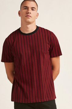 Product Name:Contrast Stripe Tee, Category:mens-top-picks, Price:10.9