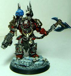 Chaos, Lord, Terminator Armor, Warhammer 40,000, Word Bearers