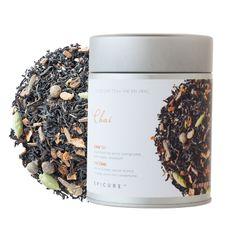 Chai Tea: Enjoy the meditative aromas of black tea, fragrant spices, orange peel, pepper, and cardamom. Tea Cocktails, Drinks, Manuka Honey, Orange Peel, Loose Leaf Tea, Teas, Tea Time, Clean Eating, January