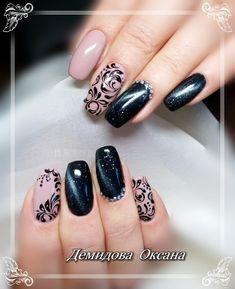 New year's nails · elegant nail designs, nail art designs, black nails, red nails, winter nails Nail Art Designs, Elegant Nail Designs, Black Nail Designs, Pretty Nail Designs, Pretty Nail Art, New Year's Nails, Red Nails, Jolie Nail Art, Popular Nail Art