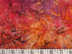 Anthology Batik Fabric by the Yard - None