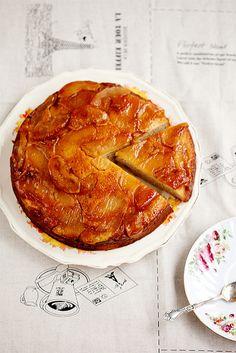Up side down apple cake, via Flickr anhsfoodblog