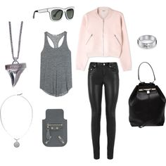 """plain pink"" by gleaniaw on Polyvore"