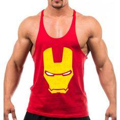 0b3be6ecb77f6 Regata Cavada Homem de Ferro Iron Man Regatas Cavadas