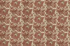 "Avance - French General Rural Red, at Calicocorners.com. 54""W, linen/cotton"
