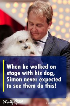 Talking dog - This is one of those rare moments in the world of 'Britain's Got Talent' where there's no singing or dancing, just a man, his dog, and an amazing twist bgt Britain'sGotTalent dogs pets dog got Funny Animal Videos, Funny Animal Pictures, Videos Funny, Dog Pictures, Funny Animals, Animal Funnies, Puppies And Kitties, Pet Dogs, Rescue Dogs