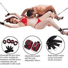 mssmarttm under bed bondage restraints system furry handcuffs and