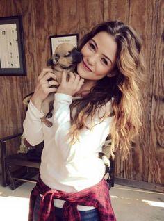 Image via We Heart It https://weheartit.com/entry/158256632/via/3954323 #cute #puppy #TheOriginals #witch #daniellecampbell #danii #instagram #davinaclaire