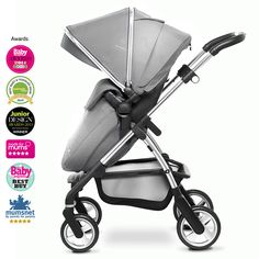 Silver Cross Wayfarer Travel System (Silver)