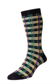 Kentish men's Egyptian Cotton Lisle dress sock | English-made by Pantherella