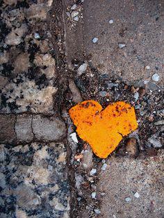 Orange Heart.
