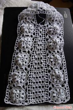 . Платье для внучки, 2 годика, работа июль 2018г - Вязание - Страна Мам Crochet Baby, Crochet Top, Toddler Dress, Crochet Clothes, Dress Patterns, Women Wear, Knitting, Dresses, Fashion