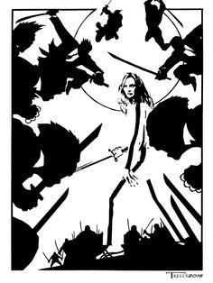 The Bride by artist Tom Kelly on the web at TomKellyART.deviantart.com on @DeviantArt