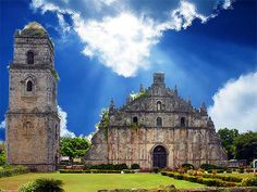 The Philippines is the only Roman Catholic country in Asia. A Church symbolizes the Christianity of the Filipino people and I have here s. The Family International, Great Places, Beautiful Places, Ilocos, Bohol, Tourist Spots, Philippines Travel, Roman Catholic, Pilgrimage