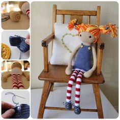 Astrid A Crochet doll PDF Pattern by AnnaboosHouse on Etsy, £4.00