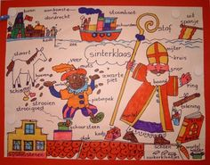 Brainstorm sinterklaas Saint Nicholas, Brainstorm, Saints, Comics, Children, School, Drawings, Holiday, Fun