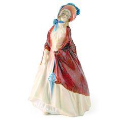 Royal Doulton Figurine, Paisley Shawl HN1987