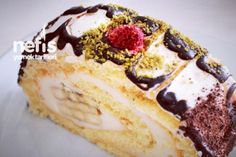 Muzlu Rulo Pasta Hazırlanışı Tarifi