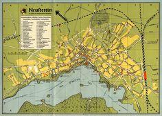 Neustettin  s.a. Verzeichnis dazu auf http://www.plus-minus.net.pl/Germanica/Neustettin_ulice.htm