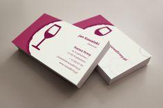 szablon wizytówki Lampka wina Business Cards, Convenience Store, Restaurant, Visit Cards, Diner Restaurant, Carte De Visite, Restaurants, Supper Club