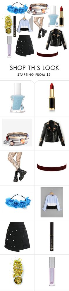 """Aethstetic"" by leksitach on Polyvore featuring Essie, L'Oréal Paris, WithChic, Leg Avenue, 2028, Chicwish, Dr.Hauschka, The Gypsy Shrine and Forever 21"