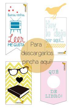 ¡Hoy es el Día de las Bibliotecas! Descarga estos originales marca páginas imprimibles #gratis Spanish Teaching Resources, Book Worms, Bookmarks, Free Printables, Diagram, Reading, Handmade, Big Books, Scrapbooking