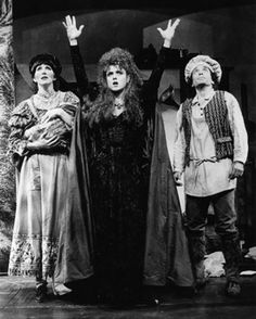 Bernadette Peters on the New York Stage  ~ Joanna Gleason, Bernadette Peters and Chip Zien in Into the Woods, 1987