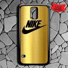 Nike Gold Samsung Galaxy S5 Black Case
