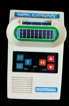 TESTED: Vintage Mattel Electronics Football Handheld Game from 1977, 9 VOLT | Toys & Hobbies, Games, Electronic Games | eBay!