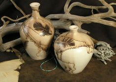 Some of the prettiest horsehair pottery I've seen