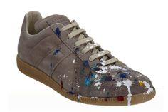 """Maison Martin Margiela """"Paint Splatter Replica Sneaker"""""""
