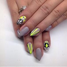 by Ania Leśniewska Double Tap if you like #nails #nailart #nailpolish Find more Inspiration at www.indigo-nails.com