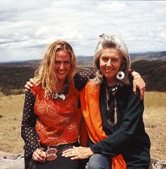 Sveva and Kuki Gallmann protecting Kenya, the land and its animals from the ravages of deforestation and poaching.