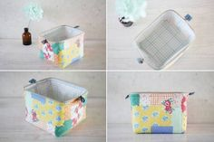Cosmetic Bag colorful.  DIY step-by-step tutorial.  Bright bag beautician.