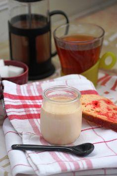 yaourt au thé rouge aromatisé