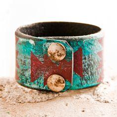 Arrow Head Turquoise Jewelry Native Tribal Chevron by rain wheel