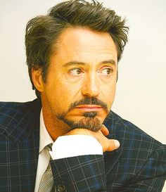Robert Downey Jr. should win an award for best celeb comeback ever. RDJ, you are doing it right.