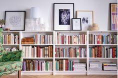 Office bookshelves & art