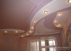 Дизайн потолка в квартире