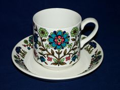 midwinter country garden tea set. i found this in a vintage shop in England and passed it up..now i fully regret it.