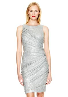 ideeli | CARMEN MARC VALVO Sleeveless Knee Legnth Dress