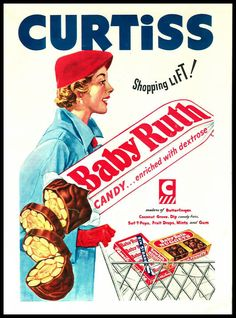 baby ruth bars! I can never eat one without thinking about Caddy Shack...