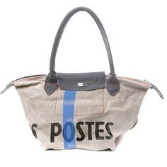 Canvas Tote / lotte2063 / Upcycled and Handmade by by peace4you, $176.00
