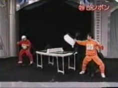 VIDEO: Kung Fu Ping Pong