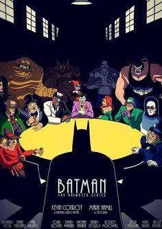 Batman The Animated Series Posters Batman, Batman Film, Le Joker Batman, Batman Artwork, Joker Art, Images Batman, Batman Pictures, Comic Book Characters, Comic Books Art