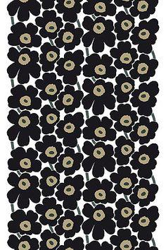 Marimekko - Pieni Unikko cotton canvas - another idea for chairs