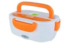 Marmita Elétrica com Divisória e Colher Lunch Box